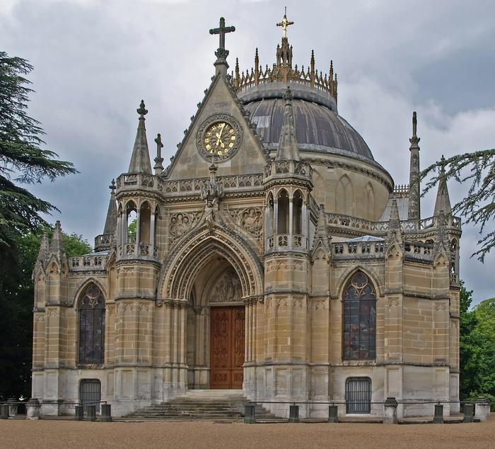 La chapelle royale de Dreux-Королевская капелла в Дрё 76546