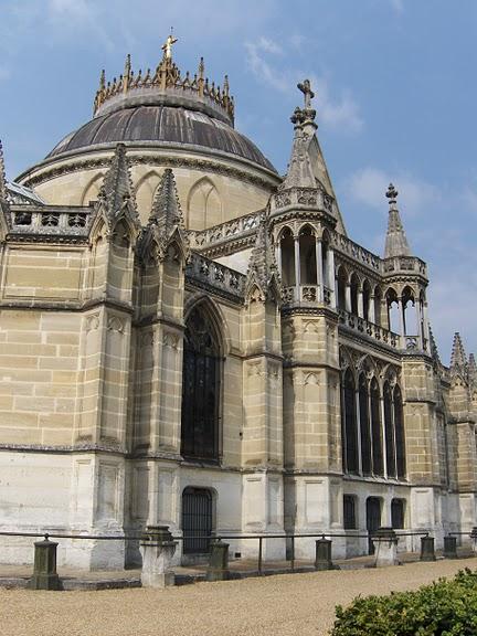 La chapelle royale de Dreux-Королевская капелла в Дрё 51628