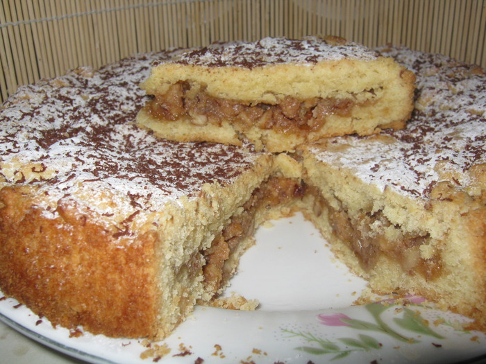 Рецепт пирог Швейцарский