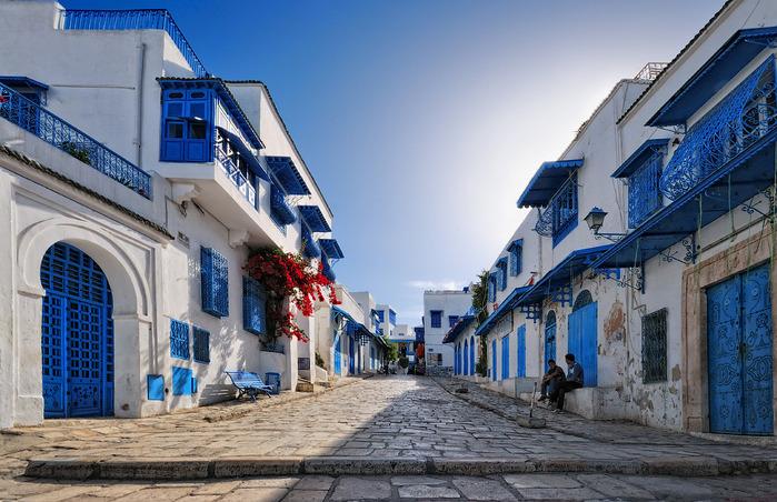 Тунис. Синий город - Sidi Bou Said 99680