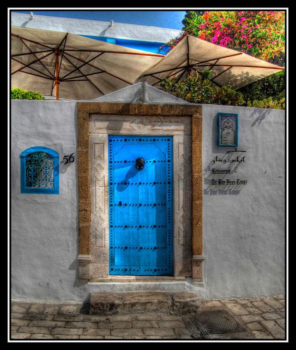 Тунис. Синий город - Sidi Bou Said 65473