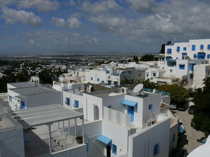 Тунис. Синий город - Sidi Bou Said 20797