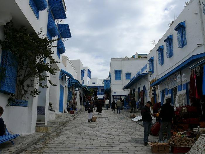 Тунис. Синий город - Sidi Bou Said 89807