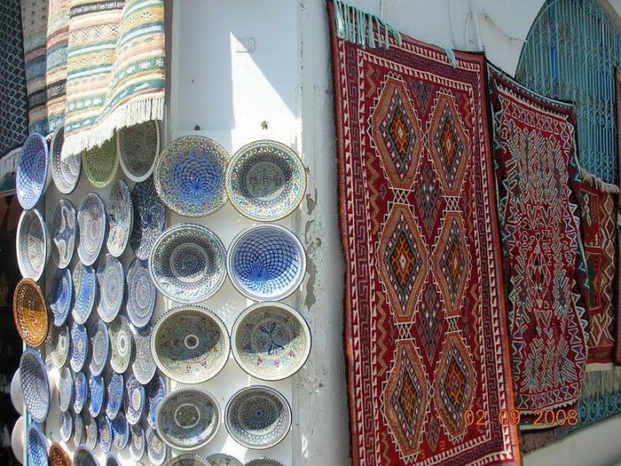 Тунис. Синий город - Sidi Bou Said 73363