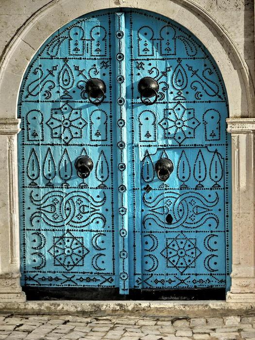 Тунис. Синий город - Sidi Bou Said 87036