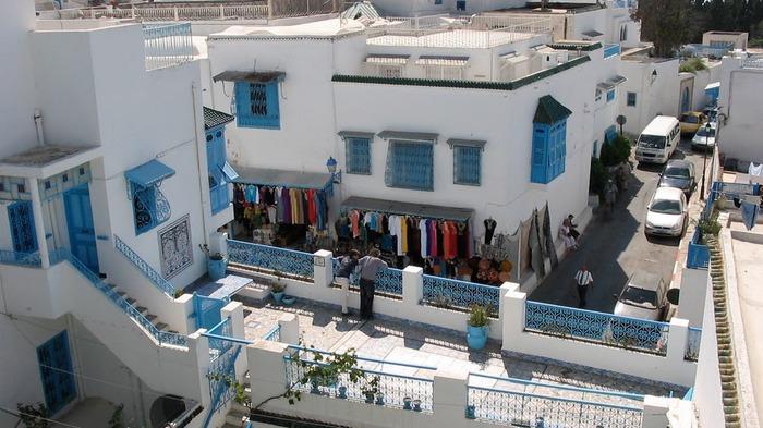 Тунис. Синий город - Sidi Bou Said 81198