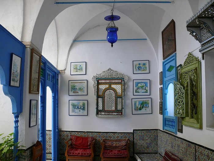 Тунис. Синий город - Sidi Bou Said 57827