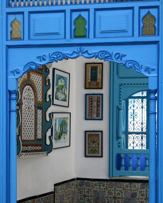 Тунис. Синий город - Sidi Bou Said 46467