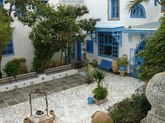 Тунис. Синий город - Sidi Bou Said 70194