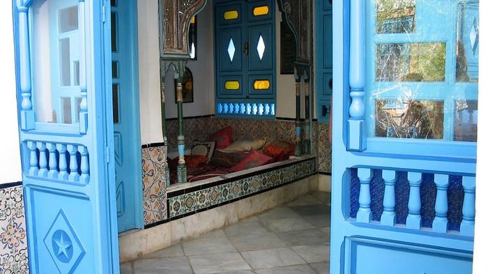 Тунис. Синий город - Sidi Bou Said 75169