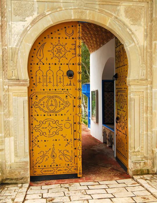 Тунис. Синий город - Sidi Bou Said 92768