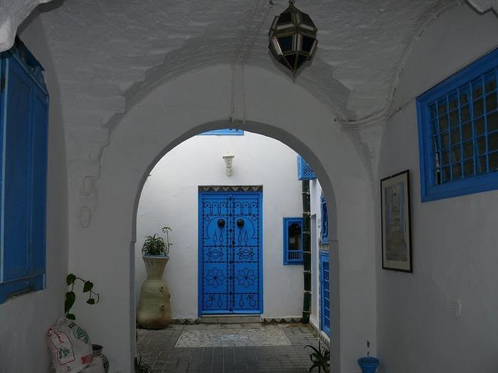 Тунис. Синий город - Sidi Bou Said 76234