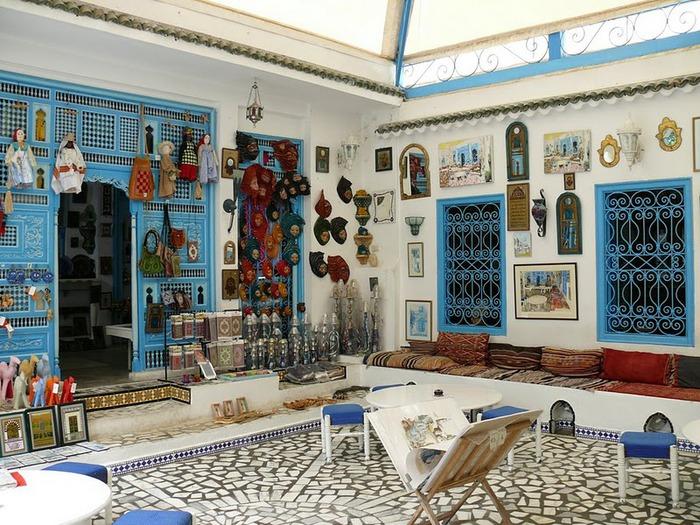 Тунис. Синий город - Sidi Bou Said 38909