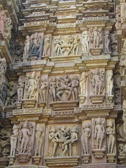 ИНДИЯ: Храмы Кхаджурахо (The Temples of Khajuraho) 60507