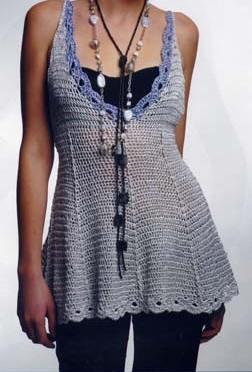 crochet vest for spring