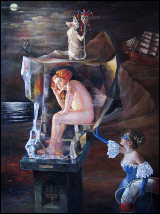 Красочный сюрреализм Бориса Дуброва