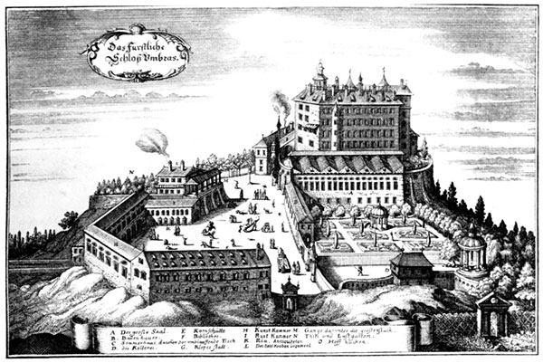 дворец Амбрас (Castle Ambras) 99143