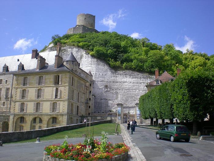 Замок Ла Рош-Гюйон (La Roche-Guyon) 28762