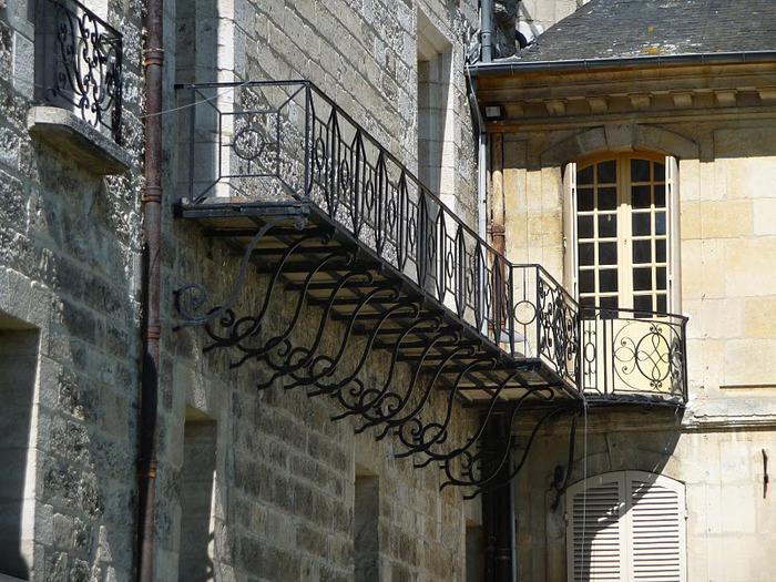 Замок Ла Рош-Гюйон (La Roche-Guyon) 17530