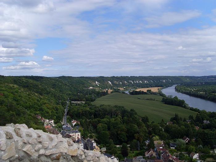 Замок Ла Рош-Гюйон (La Roche-Guyon) 12774