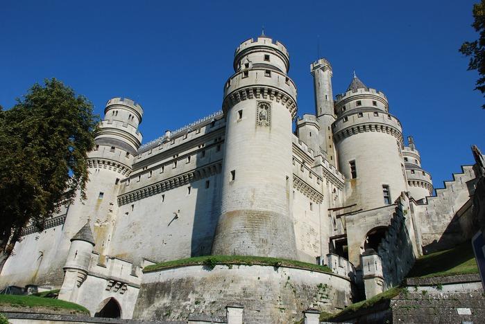 Замок Пьерфон ( фр. Chateau de Pierrefonds ) 23217