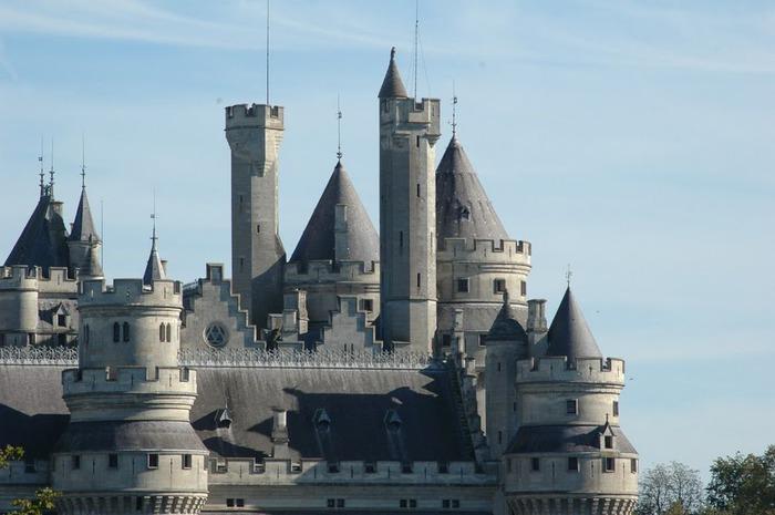 Замок Пьерфон ( фр. Chateau de Pierrefonds ) 53305