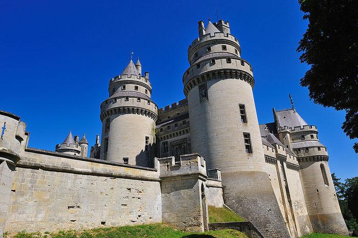 Замок Пьерфон ( фр. Chateau de Pierrefonds ) 51863