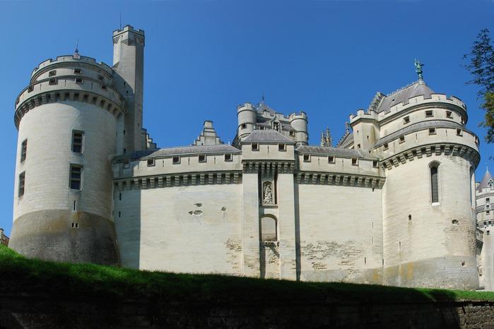 Замок Пьерфон ( фр. Chateau de Pierrefonds ) 31643