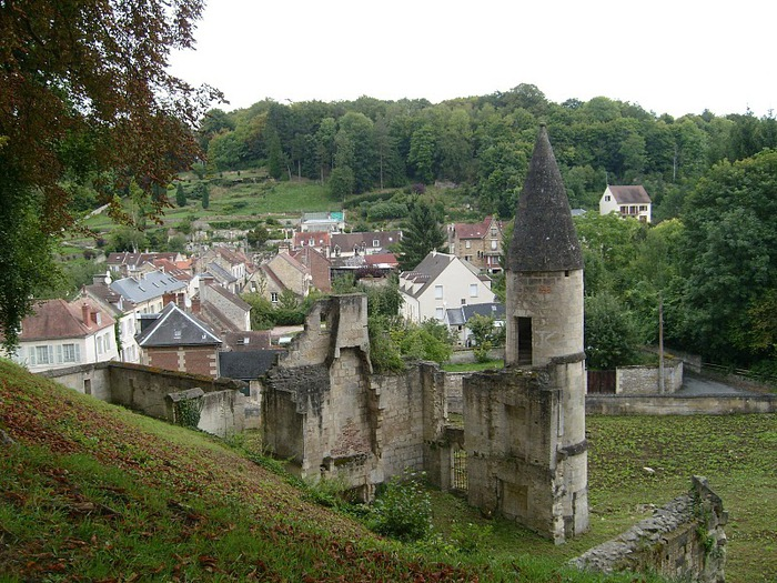 Замок Пьерфон ( фр. Chateau de Pierrefonds ) 64808