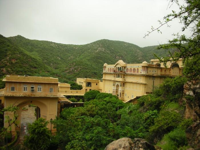 Тадж-Махал в миниатюре - Samode Palace 48184