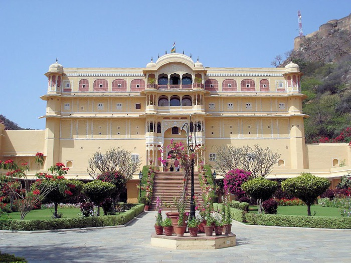 Тадж-Махал в миниатюре - Samode Palace 99696