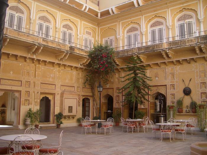 Тадж-Махал в миниатюре - Samode Palace 36408