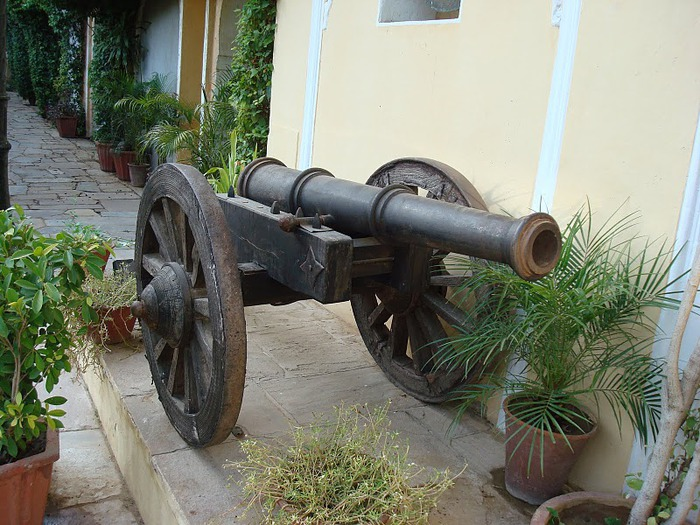 Тадж-Махал в миниатюре - Samode Palace 80712
