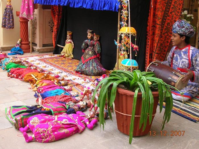Тадж-Махал в миниатюре - Samode Palace 39407