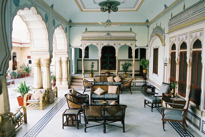 Тадж-Махал в миниатюре - Samode Palace 37776