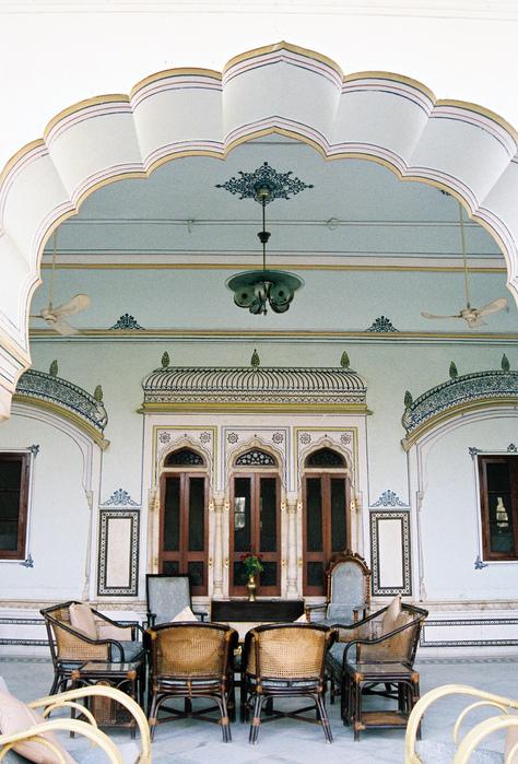 Тадж-Махал в миниатюре - Samode Palace 16814