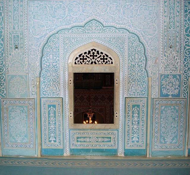 Тадж-Махал в миниатюре - Samode Palace 97018