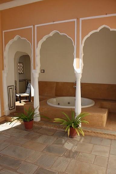 Тадж-Махал в миниатюре - Samode Palace 46912