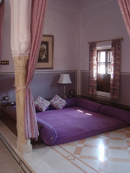 Тадж-Махал в миниатюре - Samode Palace 93441