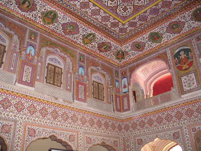 Тадж-Махал в миниатюре - Samode Palace 28866