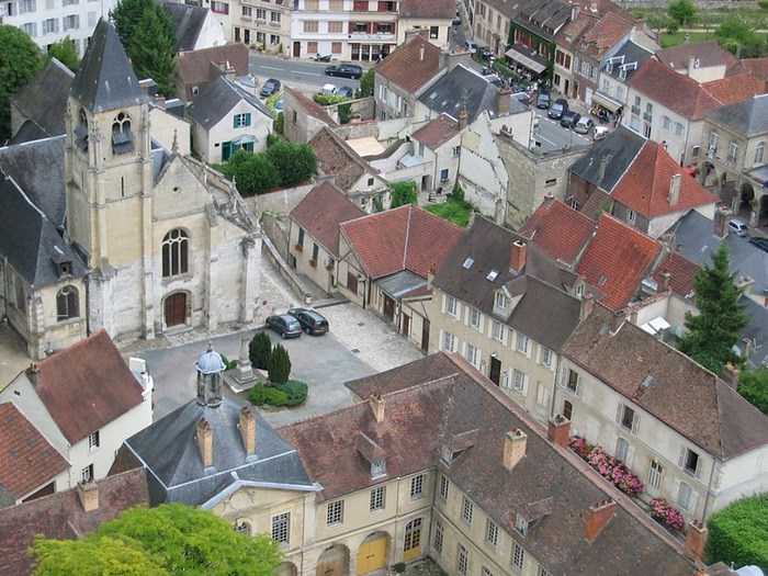 Замок Ла Рош-Гюйон (La Roche-Guyon) 14323