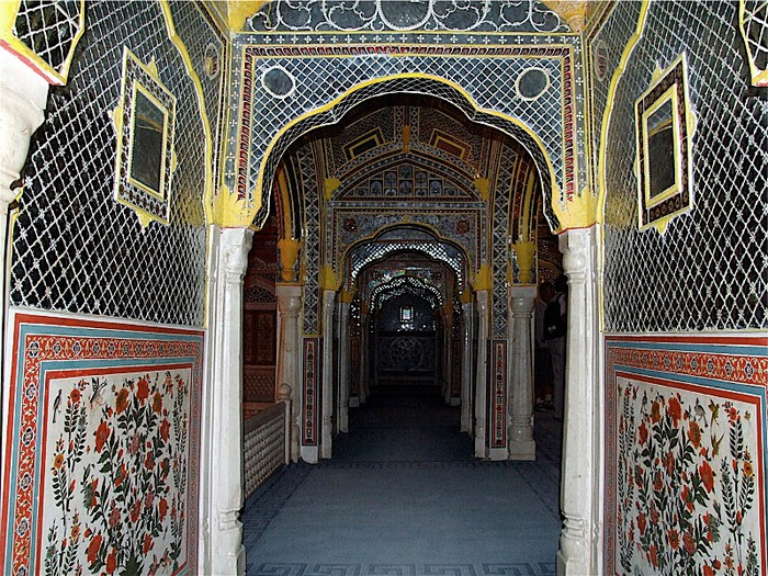 Тадж-Махал в миниатюре - Samode Palace 17366