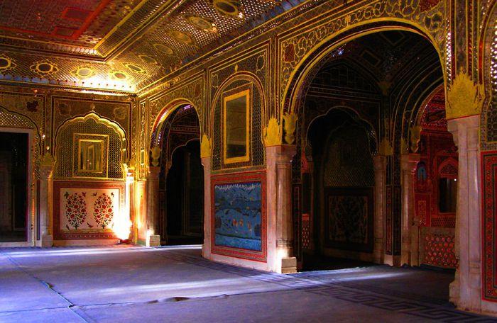 Тадж-Махал в миниатюре - Samode Palace 62713