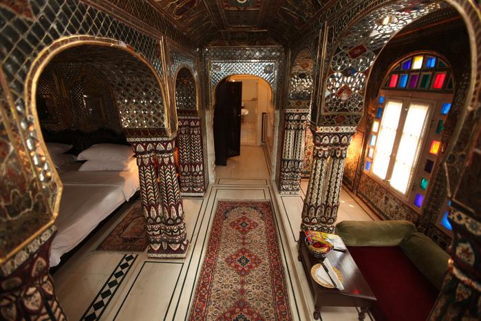 Тадж-Махал в миниатюре - Samode Palace 74577