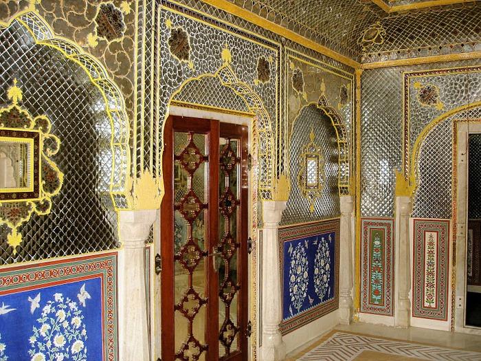 Тадж-Махал в миниатюре - Samode Palace 15533