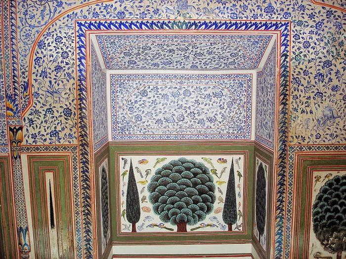 Тадж-Махал в миниатюре - Samode Palace 29163