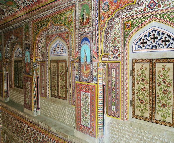 Тадж-Махал в миниатюре - Samode Palace 83284