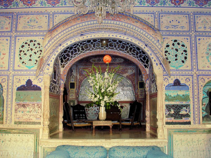 Тадж-Махал в миниатюре - Samode Palace 26524