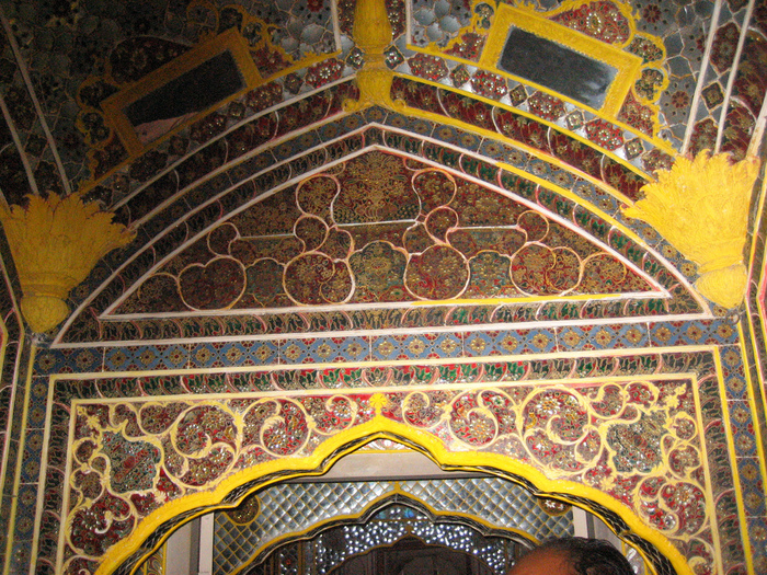 Тадж-Махал в миниатюре - Samode Palace 69115