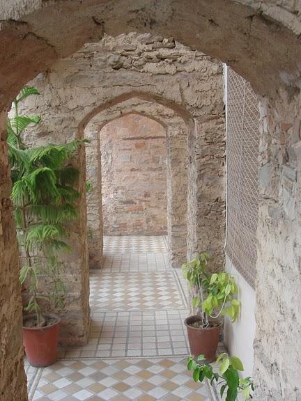 Тадж-Махал в миниатюре - Samode Palace 31605